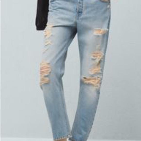 professional design noveldesign top-rated cheap Mango Super Distressed Boyfriend Jeans